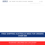 Sirui 15% off Sitewide