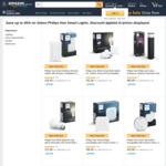 45% on Selected Philips Hue: B22 Bulbs $12.90, E27 Bulbs $13.90, Hue Smart Bridge $38.40 ($0 Shipping with Prime) @ Amazon