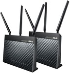 ASUS RT-AC68U AiMesh 2 Pack - $259 (was $359) + Shipping @ Mwave