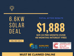 [VIC] 6.6kw Solar System Installed for $1888 (Selected Postcodes in VIC Only) - Half Cell Mono Panels @ Sunline Energy