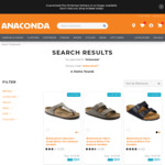 Birkenstock Sandals $69 or $89 + $9.99 Delivery / in Store at Anaconda