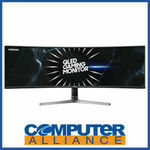 """Samsung 49"""" RG590 Dual QHD 120Hz Ultrawide Curved QLED HDR Monitor $2039.15 + $15 Ship ($0 with Plus) @ Computer Alliance ebay"""