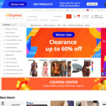 US $2 off US $15 Spend Coupon @ AliExpress