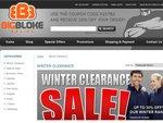 Up to 30% off Winter Clearance Sale on Big Mens Clothing - BigBlokeBasics.com.au