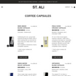 30% off Nespresso Compatible Pods w/Free Shipping @ ST. ALi (RRP $55-$65 for 60 Capsules)