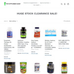 Stock Clearance Sale + Extra 10% off @ The Supplement Shop