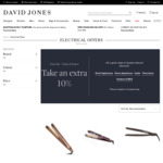 Extra 10% off Selected Electronics: Mavic2 Drone Battery $177.30, MacBook Air 2019 (Sold out) $1365.30 @ David Jones