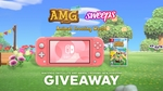 Win a Nintendo Switch Lite & Animal Crossing, from Sweeps, Animal Crossing World & TheTrueAMG