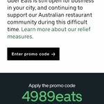 $30 off Your First Order with Uber Eats
