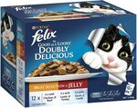 Felix Meat Selection in Jelly Cat Food 60x 85g $21.99 / $19.79 with S&S + Delivery ($0 with Prime/ $39 Spend) @ Amazon AU