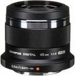 Olympus M.Zuiko 45mm F1.8 Lens $272.30 Delivered @ Amazon AU