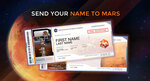 Free - Send Your Name to Mars @ NASA