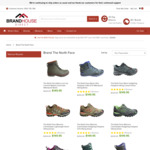 The North Face Mens & Womens Boots & Shoes All Styles $69.95 + Shipping @ Brand House Direct
