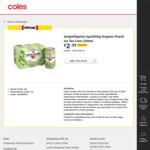 Sanpellegrino Sparkling Organic Peach Ice Tea Cans 6pk $2.35 (Was $9.40) @ Coles