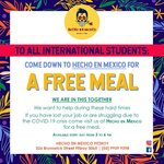 [VIC] Free Meal for Those in Need, 3pm-6pm Daily @ Hecho En Mexico (Fitzroy)