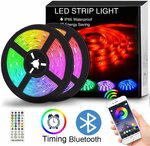 30% off App Controlled LED Strip Lights Sync to Music $25.89 + Delivery ($0 with Prime/ $39 Spend) @ FindYouLed via Amazon