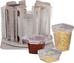 Stackit - 22 Containers (6 Large 700ml, 6 Medium 470ml, 10 Small 230ml with Lids) $30 (Was $59.95) Shipped @ Australia Post