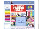 Lincraft Half Price Fabric Sale and Winter Clearance!