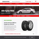 Bridgestone Tyres - Buy 3 Get 1 Free on Ecopia Car and SUV