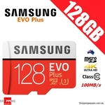 Samsung EVO Plus MicroSD 128GB $19.95 + Delivery (after $5 Discount Voucher) @ Shopping Square