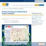 [WA] 3P Free Parking on Weekends & Public Holidays @ City of Perth Parking