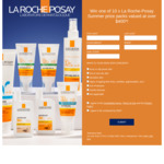 Win 1 of 10 La Roche-Posay Anthelios Summer Prize Packs Worth $408.40 from L'Oreal