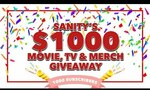 Win a Movies, TV & Merchandise Pack Worth Over $1,000 from Sanity