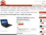 $799+del HP DV6-6136: 2GB DDR5 Graphics Card, 4GB RAM, quad core i7 2630, 640GB, USB 3.0 X 2