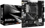 ASRock AMD B450M/AC mATX Motherboard $75 (1/2 Price) + $15 Delivery ($0 C&C) @ Rosman Computers