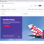 Melbourne <> Adelaide, Economy One-Way from $69 Flying April to June @ Virgin Australia