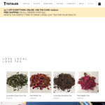 15% off T Totaler Loose Leaf Teas and Accessories + Delivery (Free with $30 Spend) @ T Totaler Tea