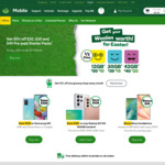 50% off $20, $30 and $40 Pre-Paid SIM Starter Packs @ Woolworths Mobile