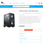 AMD Ryzen 7 5800X & RTX 3070 Gaming PC $2298, AMD Ryzen 9 5900X & RTX 3070 Gaming PC $2688 + Delivery @ TechFast