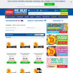 50% off All Musashi Products + Delivery ($0 with $50 Spend / C&C) @ Chemist Warehouse
