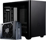 Cooler Master NR200P Mini ITX Case + Cooler Master SFX 850W Gold Power Supply $259 + Delivery Only @ PC Byte