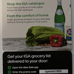[VIC] $15 off $20+ Order from Melbourne IGA Stores @ Uber Eats App