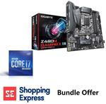Intel Core i7-10700K LGA 1200 CPU + Gigabyte Z490M GAMING X Motherboard Combo $599 Delivered @ Shopping Express