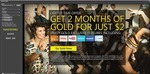 2 Months of Xbox LIVE Gold for $2