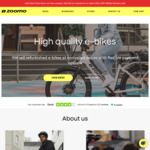 25% off Refurbished Electric Bikes + $100 Delivery @ Zoomo
