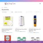 15% off Sewing Accessories, Threads, Haberdashery + Delivery ($0 Perth C&C) @ Perth Sewing Centre