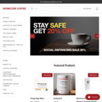 Extra $5 off Coffee Orders + Delivery ($0 with $40 Order) @ Normcore Coffee