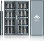 Precision Screwdriver Set 57-in-1 Magnetic Head & Storage Box $20.69 + Delivery ($0 with Prime/ $39 Spend) @ AUSELECT Amazon AU