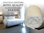 Puradown Hotel Quality Feather Down Quilts $49 to $69 (Delivered)