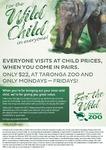 50% off Sydney Taronga Zoo Adult Tickets
