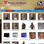 Frank and Beans Fine Underwear 30% OFF Plus $10 Credit on Next Order