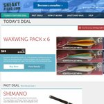 Shimano Waxwing Lures 6 for $69 Plus 15% off Today at Sneakyfisho