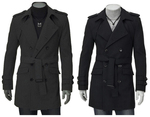 Men's Casual Long Coats- $21.68 Delivered from Banggood