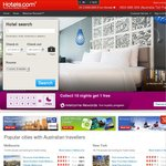 Hotels.com 10% off Coupon Code