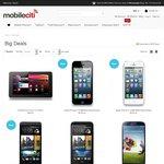 Samsung Galaxy S4 4G Black $499, Apple iPhone 5 16GB $549 + Free Shipping @ Mobileciti