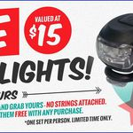 FREE Bike Lights ($15 Value) No Catches, No Purchase, Just Collect at Reid Cycles